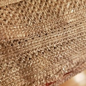 Beautifully Detailed Golden Scarf